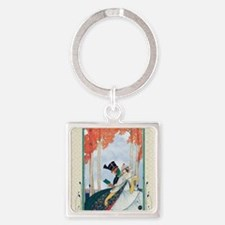 Plank Art Deco Lovers Keychains