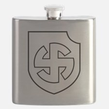 Cute Panzer division Flask