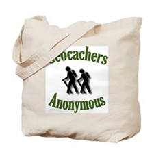 Geocachers Anonymous Tote Bag