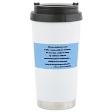 Unique Family reading Travel Mug
