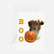 Toller Boo Greeting Cards (Pk of 10)