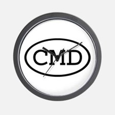 CMD Oval Wall Clock