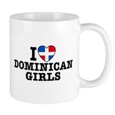I Love Dominican Girls Mug