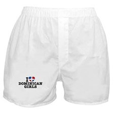 I Love Dominican Girls Boxer Shorts