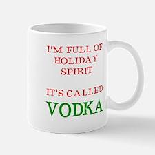 Holiday Spirit Vodka Mug