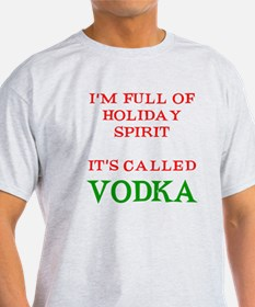 Holiday Spirit Vodka T-Shirt