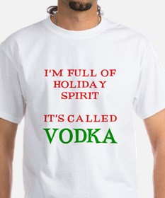 Holiday Spirit Vodka Shirt