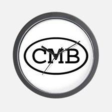 CMB Oval Wall Clock