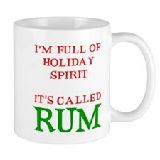 Holiday Spirit Rum Mug