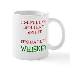 Holiday Spirit Whiskey Mug