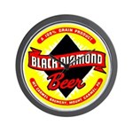 Black Diamond Beer-1948 Wall Clock