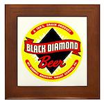 Black Diamond Beer-1948 Framed Tile