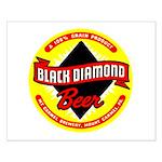 Black Diamond Beer-1948 Small Poster