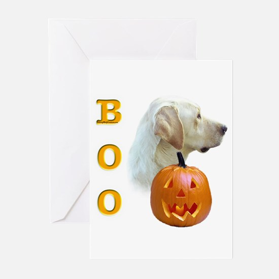 Yellow Lab Boo Greeting Cards (Pk of 10)