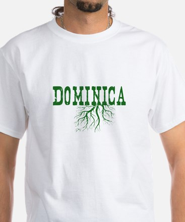 Dominica Roots White T-Shirt