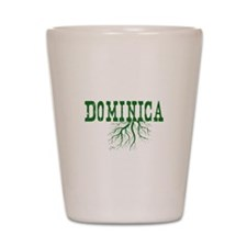 Dominica Roots Shot Glass