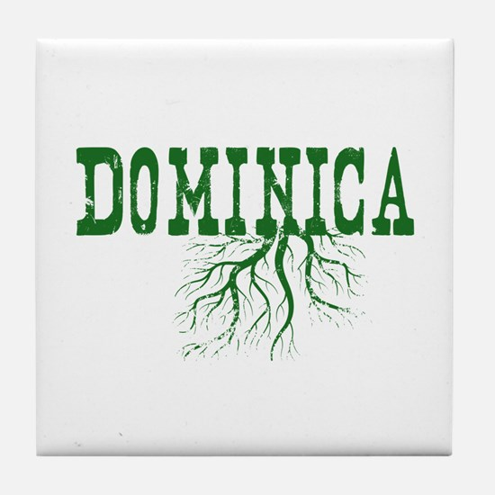 Dominica Roots Tile Coaster