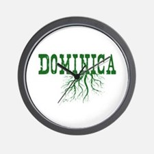 Dominica Roots Wall Clock