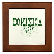 Dominica Roots Framed Tile