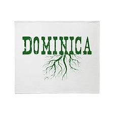 Dominica Roots Throw Blanket