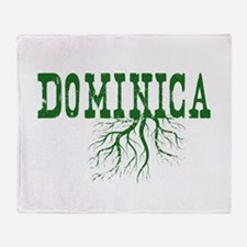 Dominica Roots Throw Blanket
