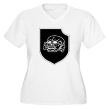 3rd SS Division Totenkopf Plus Size T-Shirt