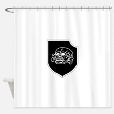 3rd SS Division Totenkopf Shower Curtain