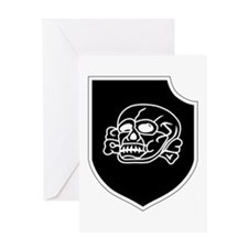 3rd SS Division Totenkopf Greeting Cards