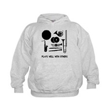 Band plays well with others Hoodie
