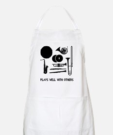 Band plays well with others Apron