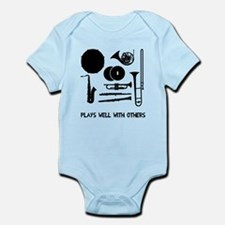 Band plays well with others Infant Bodysuit