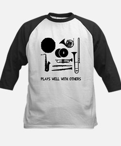 Band plays well with others Kids Baseball Jersey