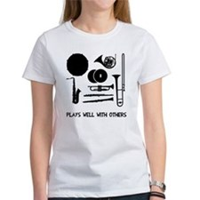 Band plays well with others Tee