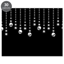 Skull Dangles Gothic Holiday Puzzle