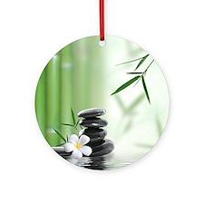 Zen Reflection Ornament (Round)