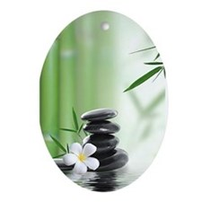 Zen Reflection Ornament (Oval)