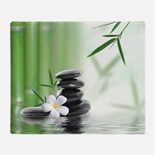 Zen Reflection Throw Blanket