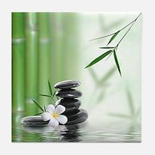 Zen Reflection Tile Coaster