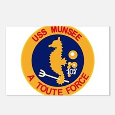 ATF-107 USS Munsee Milita Postcards (Package of 8)