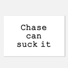 Chase Can Suck It Postcards (Package of 8)