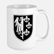 ision of the SS Charlemagne (1st French) Mugs