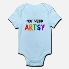 Not weird artsy Infant Bodysuit