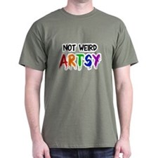 Not weird artsy T-Shirt