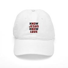 Know Jesus Know Love Baseball Cap