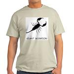Giant Scorpion Ash Grey T-Shirt