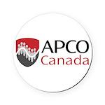 Capco_logo_rgb_word.jpg Round Coaster
