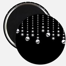 Skull Dangles Gothic Holiday Magnets