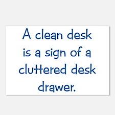 Clean Desk Postcards (Package of 8)