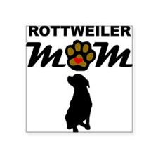 Rottweiler Mom Sticker