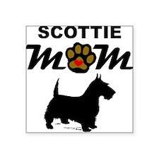 Scottie Mom Sticker